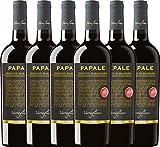 VINELLO 6er Weinpaket Primitivo - Papale Linea Oro Primitivo di