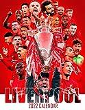 """Liverpool 2022 Calendar: SPORT Calendar 2022-2023 – 18 months – BIG SIZE 17""""x11"""". Planner for all fans kids boys , Soccer Calendar 2022"""