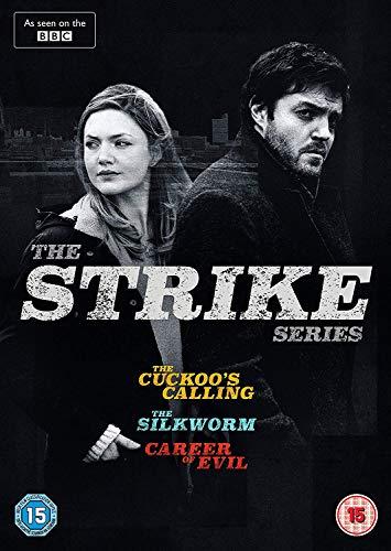 Strike: The Series [The Cuckoos Calling / The Silkworm / Career of Evil] [DVD] [2018]