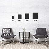 Arteza Malkarton, 22.9 x 30.5 cm, 14 Stück, schwarze Malpappe, grundierte Leinwand-Pappe 100% Baumwolle, für Malerei, Acrylfarben, Ölfarben & nasse Kunstmedien, Leinwände für Profis & Hobbymaler - 6
