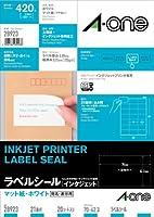 エーワン インクジェットプリンタラベル21面 28923 00030018【まとめ買い3パックセット】