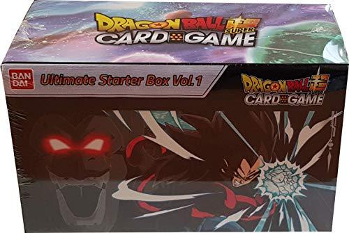 Dragon Ball Super Card Game - Coffret Collector Ultimate Starter Box Vol. 1: Son Goku & Vegeta Super Saiyan 4