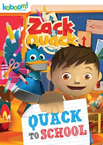 Zack & Quack - Quack To School [Edizione: Stati Uniti] [Italia] [DVD]