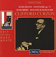 Fantasie Op. 17/ Sonate B-Dur by SCHUMANN / SCHUBERT (1995-09-19)