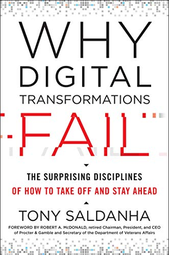 Compare Textbook Prices for Why Digital Transformations Fail: The Surprising Disciplines of How to Take Off and Stay Ahead  ISBN 9781523085347 by Saldanha, Tony,McDonald, Robert A.