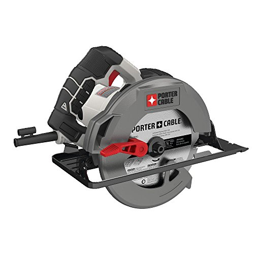 PORTER-CABLE 7-1/4-Inch Circular Saw, Heavy Duty Steel Shoe,...