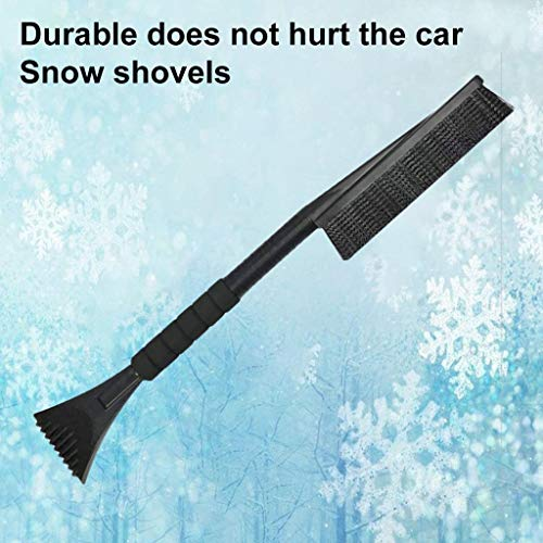 Lowest Price! Oneone Ice Scraper for Car with Snow Brush 2-in-1 Windshield Removal Tool with Foam Gr...
