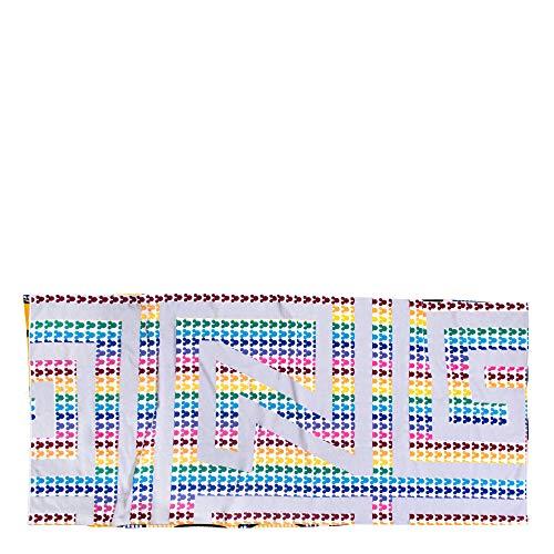 ZOEPPRITZ Beach Mickey Flag Strandtuch – Strandlaken aus 100% weicher Baumwolle – 90x180 cm – Badetuch - Saunatuch - Original Disney Design