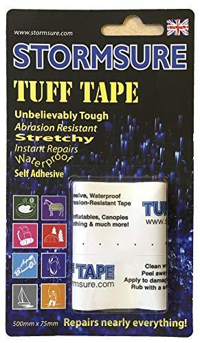 Stormsure TUFF Tape Klebeband Selbstklebendes Reparaturband - 50cm Streifen