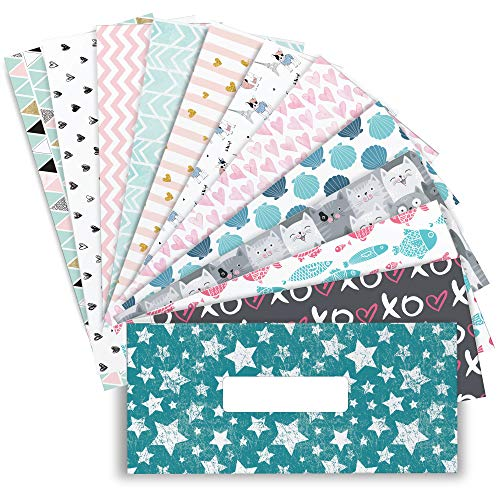 12 Budget Envelopes per Set. Reusable, Durable and Laminated budgeting Envelopes. Our Easy Cash envelopes budgeting System That Includes 12 Tracking Budget Sheets.