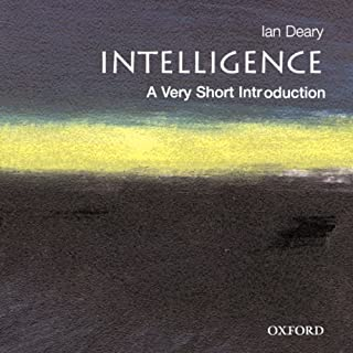 Intelligence: A Very Short Introduction cover art