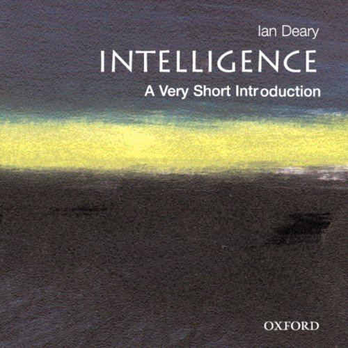 Intelligence: A Very Short Introduction Titelbild
