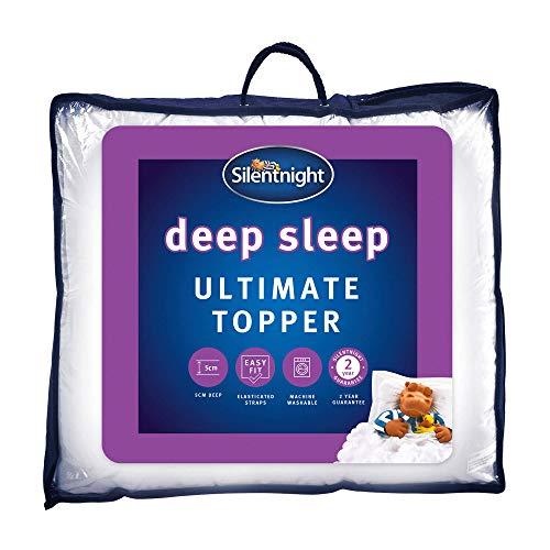 Silentnight Ultimate Deep Sleep Topper - Extra Thick Deep Mattress Topper...