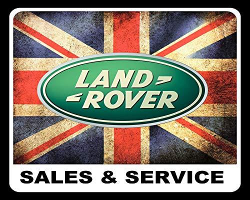 LAND ROVER SALES & SERVICE Defender EVOQUE - Targa in metallo da 19 x 14 cm