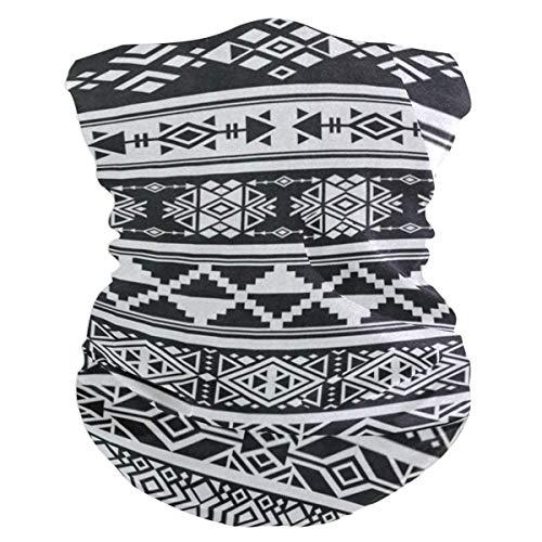 Nother Pasamontañas africano y mexicano azteca americana tribal para mujer, bandana, silenciador, polaina para el cuello, mágica, foulard pañuelo para la cabeza