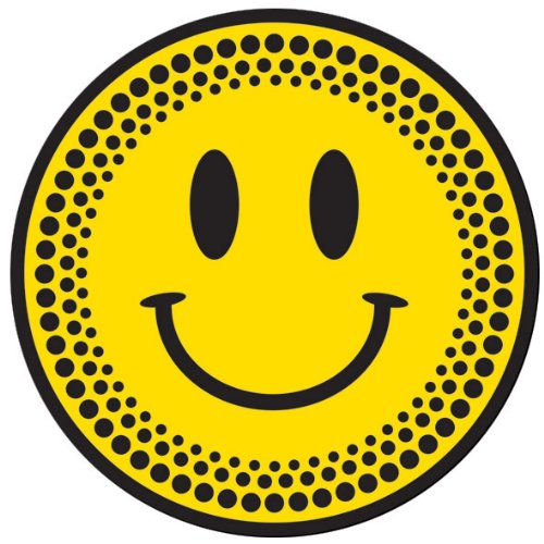 DMC DJ Slipmats (1 Paar) schwarz/gelb