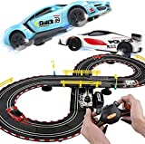 BJINDH 2.8m Racing Racing Electric Vining Wheel Double Competitive Racing Toy Padres-Child Interactive Ocio Entretenimiento Toy Children's Car Track Toy Folleto Regalo de cumpleaños (Color : 2 Cars)