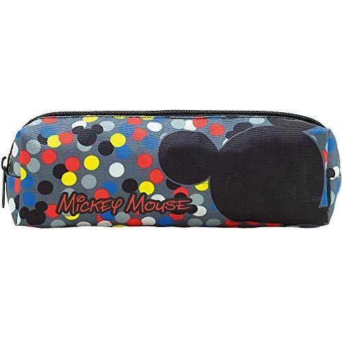 Estojo Mickey T1 - 9101 - Artigo Escolar Mickey Mouse, Multicolorido