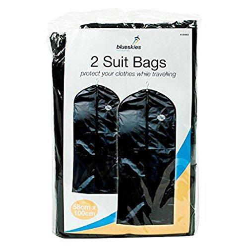 Nieuwe 2 Travel Suit Tassen Opknoping Zip Up Jas Kleding Cover Kleding Beschermer Shopmonk