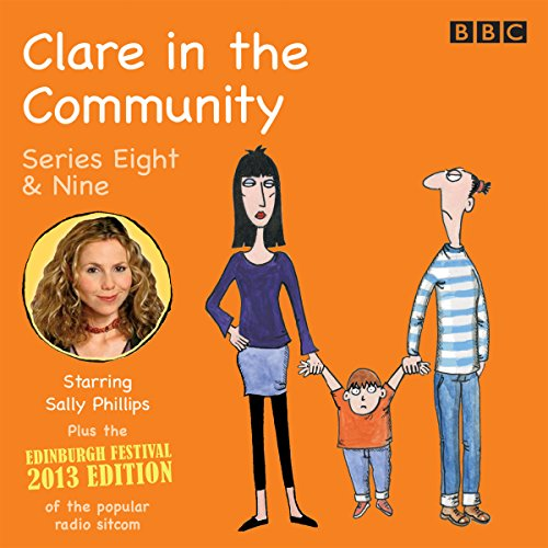 Clare in the Community audiobook cover art
