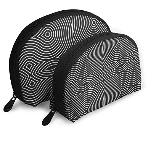 Hypnotic Swirls Pouch Zipper Toiletry Organizer Voyage Maquillage Pochette Sacs Portable Sacs Pochette Pochette Sacs De Rangement