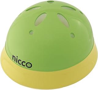 クミカ工業 Nicco ヘルメット KH002L/ベビー用/47-52cm/SG/日本製/ハードシェル グリーンイエロー