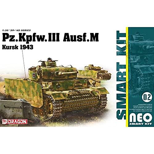 ドラゴン 1/35 第二次世界大戦 ドイツ軍 III号戦車M型 クルスク 1943 NEOスマートキット プラモデル DR6521