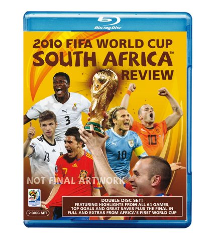 The Official 2010 FIFA World Cup South Africa Review [Reino Unido] [Blu-ray]