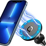 Quarble Air Vent Car Mount Holder Compatible with iPhone 13 12/12 Pro/12 Pro Max/12 Mini and Magsafe Case 360° Adjustable No Metal Plate Needed 2021 All New
