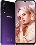 DOOGEE N20 (2019) Telephone Portable Debloqué 4G, Helio P23 Octa-Core 4 Go + 64 Go, 6,3 Pouces FHD + Waterdrop Écran Smartphone,Android 9.0, 16MP + 8MP + 8MP + 16MP, 4350mAh, 10W Charge Rapide, Violet