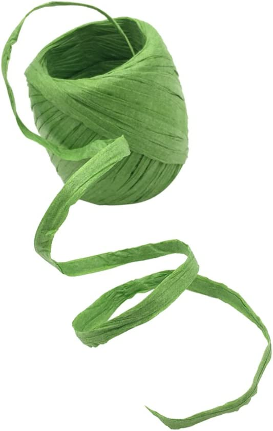 oshhni 20m Roll Raffia Paper Ribbon String Luxury Gift Scrapboo Package Same day shipping