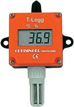 Data Logger multifunción greisinger t-logg 160Juego Tamaño misurabile Temperatura Humedad del aire -25a hasta 60°