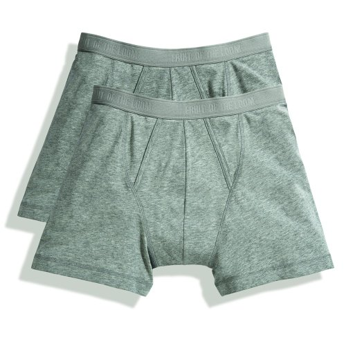 Fruit of the Loom Classic Boxershorts (4er Pack), Größe:XL;Farbe:4xLight Grey Marl