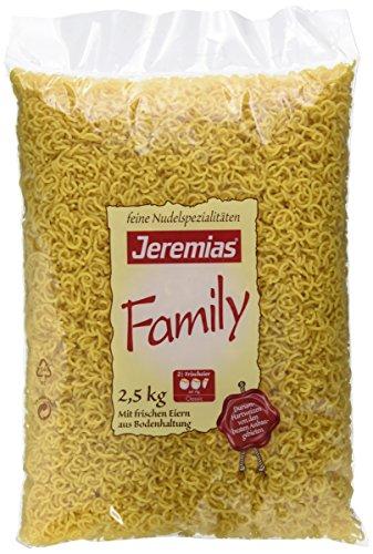 Jeremias Gabelspaghetti, Family Frischei-Nudeln, 1er Pack (1 x 2.5 kg Beutel)