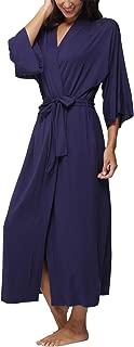 Best ladies navy dressing gown Reviews