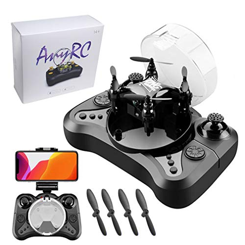 Mini Foldable 4K Camera Drone with One Extra Battery, Altitude Hold, 360° Flips, Headless Mode, One-Piece Controller and Case