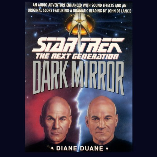 Star Trek, The Next Generation: The Dark Mirror (Adapted)                   By:                                                                                                                                 Diane Duane                               Narrated by:                                                                                                                                 John De Lancie                      Length: 2 hrs and 50 mins     247 ratings     Overall 4.4