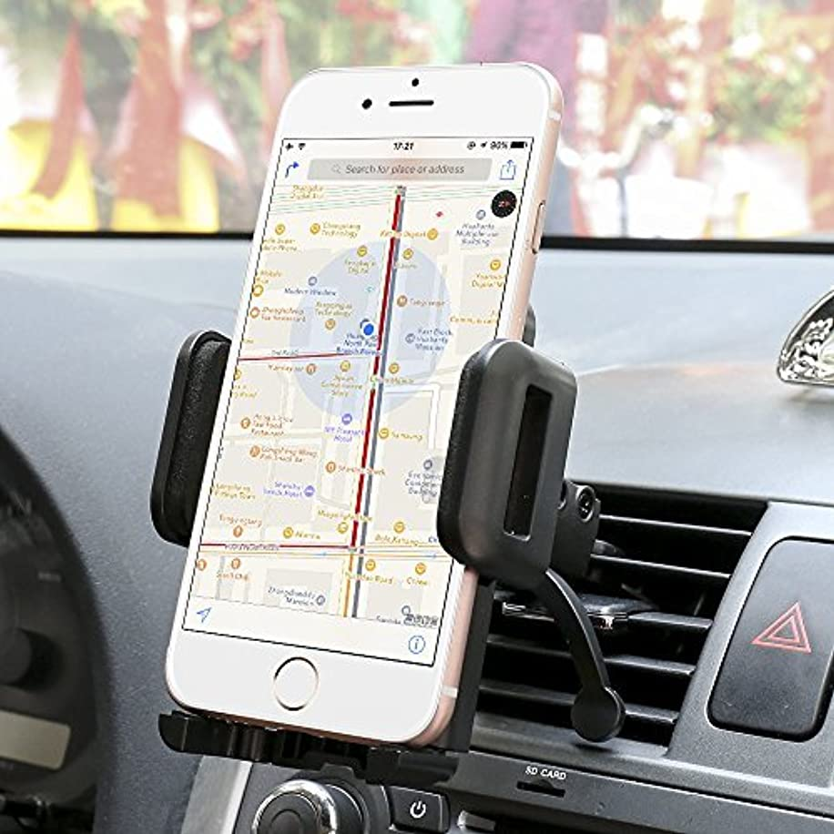 Car Mount,SGRICE Air Vent Car Phone Mount Holder Cradle Compatible for iPhone Xs/XS MAX/XR/X/8/8Plus/7/7Plus/6s/6Plus/5s,Samsung Galaxy S9/S8/S7 Edge and Other Smartphones