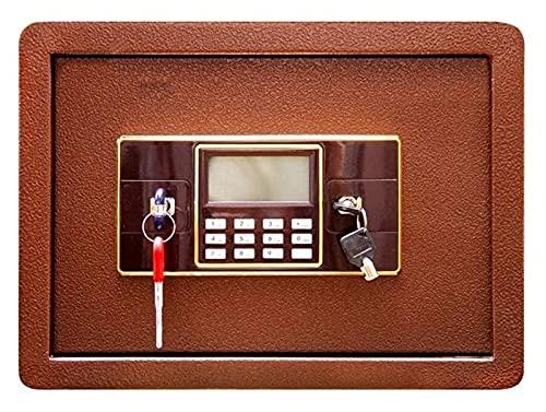 Profession Safe Box, caja fuerte para el hogar, cajas de seguridad para dinero, caja fuerte de seguridad digital electrónica, construcción de acero sólido oculta con cerradura de cerrojo Diseño de anc
