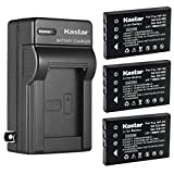 Kastar 3-Pack Battery and AC Wall Charger Replacement for Universal Remote Control URC 11N09T NC0910 RLI-007-1, URC MX 810 MX-810, URC MX 980 MX-980, URC MX 990 MX-990, URC MX 1200 MX-1200, URC X8 X-8