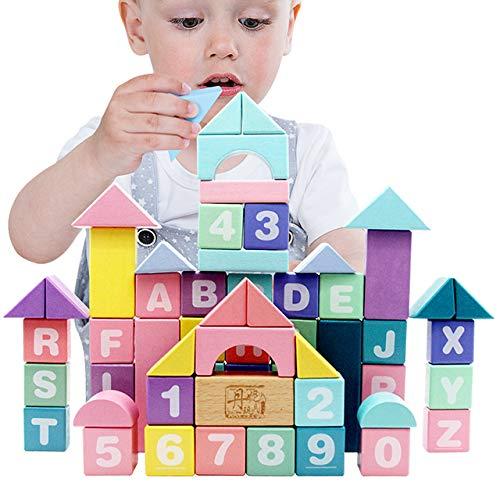 Didart Handmade Montessori 61 Bloques de...