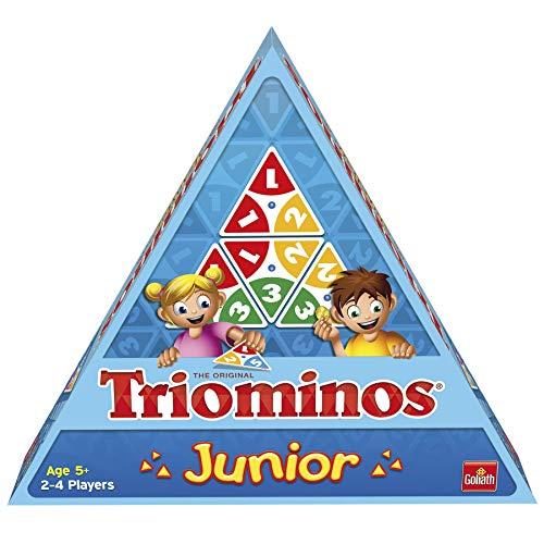 Goliath - Triominos Junior - Jeu d'enfants - à partir de 5 ans- Jeu de société - Jeu de réflexion