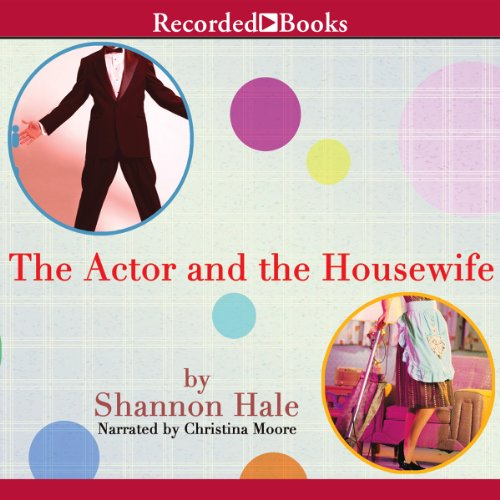 The Actor and the Housewife audiobook cover art
