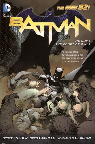 [Batman: The Court of Owls Vol 01] [by: Greg Capullo]