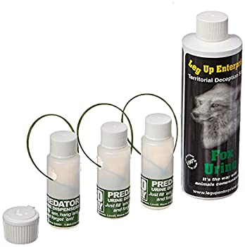 Leg Up Fox Urine with 3 30 Day Dispensers 8-Ounce - 91006