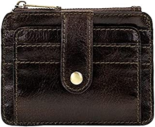 Patricia Nash Cassis Leather ID Wallet - Olive Distressed