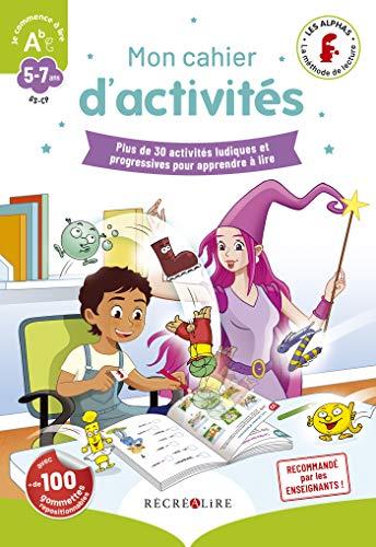 Mon cahier d'activités des Alphas 'Je commence à lire'
