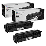LD Compatible Toner Cartridge Replacement for Canon 118 2662B001AA (Black, 2-Pack)