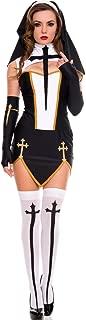 Celina Women's Bad Habit Nun Dress (4 Piece)