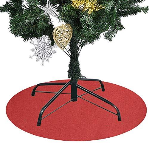 Weihnachtsbaum Rock, Untersetzer Für Weihnachtsbaumständer, Wasserdichte Rutschfeste Matte Für Den Weihnachtsbaum, Die Ihr Hartholz Und Ihren Teppichboden, Weihnachtsdekoration, 60 Cm, Rot Und Grün
